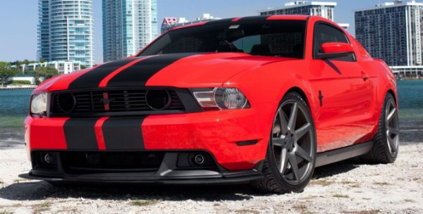 Ford Mustang tuning