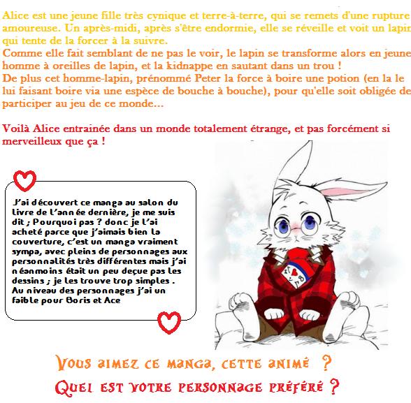 ♠ Alice au royaume de coeur ♣
