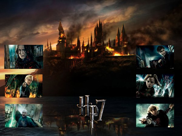 #_ Avis sur Harry Potter et Les Reliques de la Mort