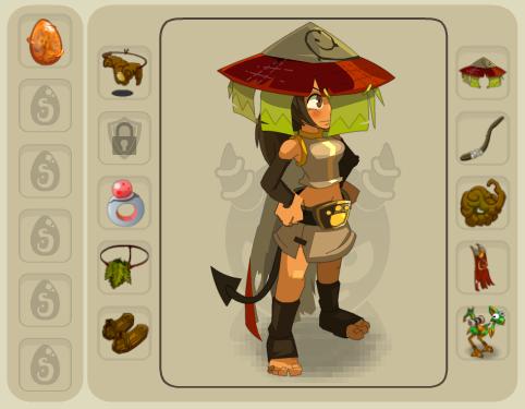 Équipements des personnages