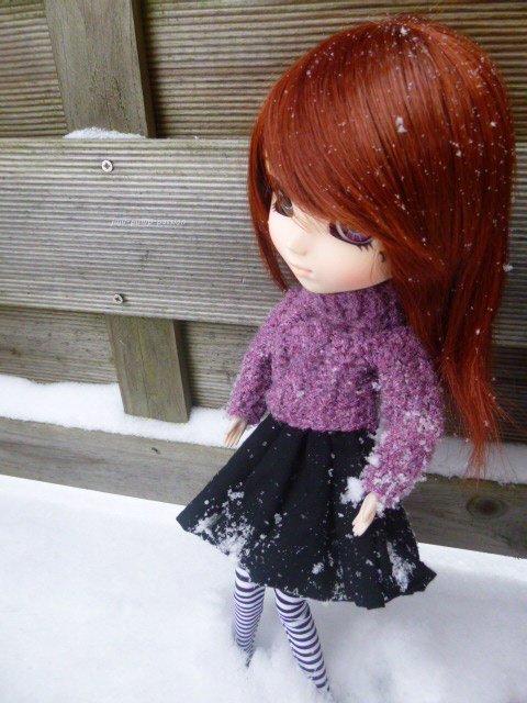 Il neige!!!!!! suite...et fin