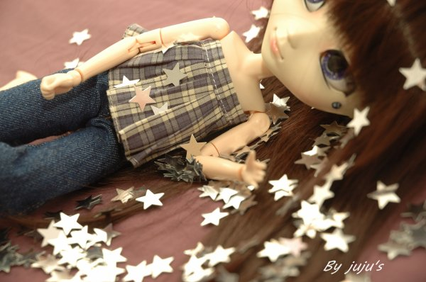 étoile scintillante ...
