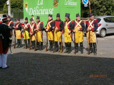 Soldats fusils
