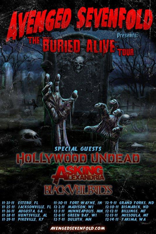 A venir pour Avenged Sevenfold