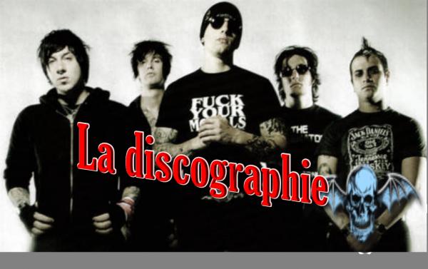 Discographie ( Partie 1 )