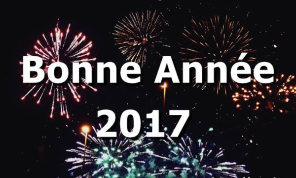 Excellente année 2017 ! /  Happy New Year 2017 !