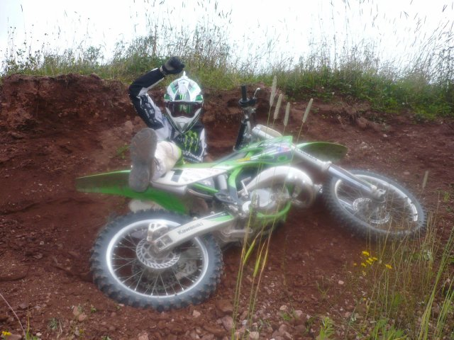 les foue du motocross