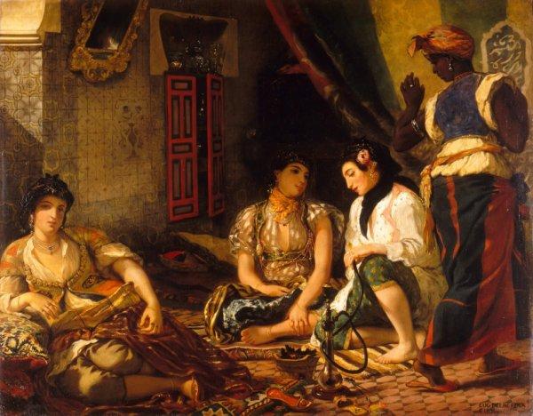 Le tableau de Delacroix de 1834