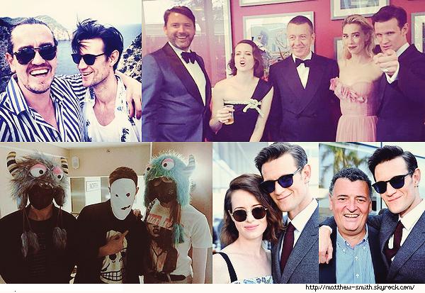 •••  RESEAUX SOCIAUX En plus de tous les news de Matthew, je vous poste un ensemble de photos où il apparaît             J'aime tout particulièrement la première où Matt est à Ibiza, celle avec Karen et Arthur et l'avant dernière, où Matt est avec deux amis.