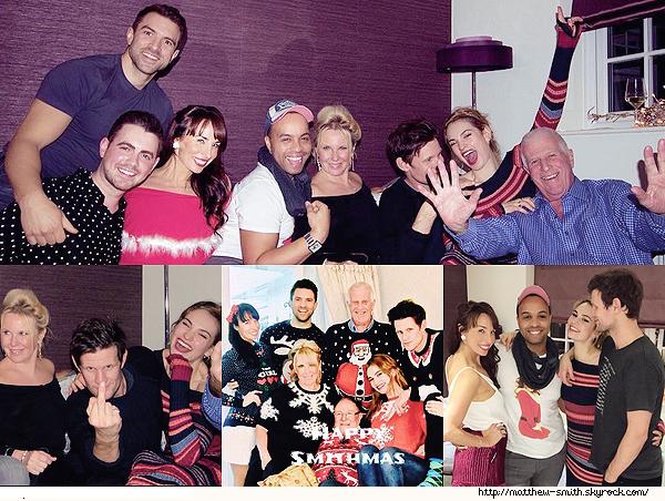 •••  CANDID Matt été en compagnie de Lily et du reste de sa famille pour les fêtes de noel , le 24 Décembre 2017             Accompagné de leurs amis et de la famille de Matt, le couple avait l'air de passer un bon moment. J'adore la dernière photo !