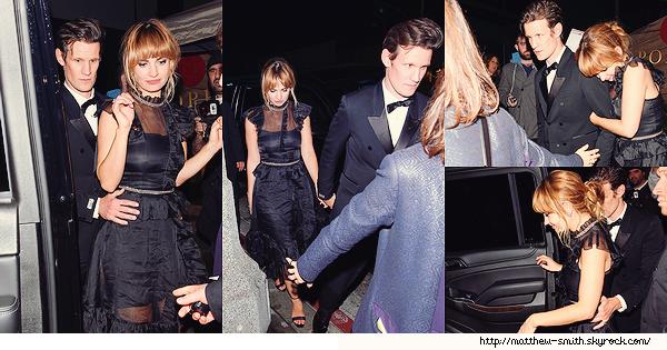 •••  EVENT Matt et Claire au  2018 Golden Globe Awards au the Beverly Hilton Hotel, le 07 Janvier 2018            Notre duo portait du noir en soutien au mouvement Time's Up. Matt une fois de plus fait un sans faute. J'adore la première photo.
