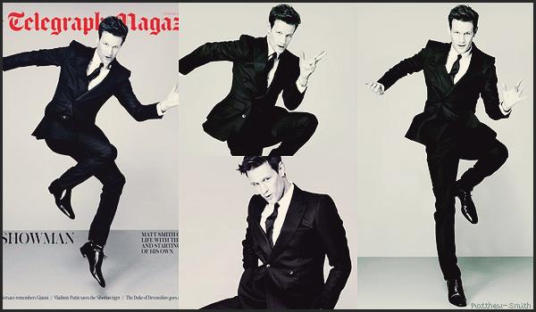 •••  TELEGRAPH UK Matt faisant la couverture du magasine The Telegraph Magazine UK, le 01 Décembre 2017           J'adore que dire de plus ! C'est tellement classe comme photos ! j'aime toutes les photos sans exception !