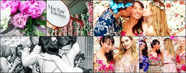 •••  CANDIDS Le couple été présent à la fête d'anniversaire de Laura Jayne, au The May Fair Hotel à Londres           Je n'ai pas de date exacte à laquelle cette fête s'est déroulée. La 1 ere photo : le bouquet d'anniv' que Matt a acheté à sa soeur.