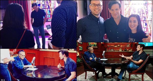 •••  INTERVIEW Matt a été interviewé par Larry King pour son émission Larry King Now, diffusé le 20 août 2018           Voici des photos BTS, les vidéos et des screencaps. Les questions posées par Larry à Matt sont des questions suggérées par les auditeurs.