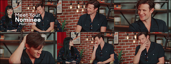 "•••  INTERVIEW Un interview de Matt est apparu sur le site The Hollywood Reporter, diffusé le 22 août 2018           Quel charmeur ce Matty, regardait moi ces mimiques, ces sourires ... ""Philip is bright, articulate, funny, very funny actually"" Matt."