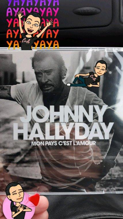 Nouvel album et dernier de notre Johnny d'amour ❤