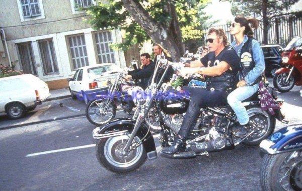 Johnny en balade moto