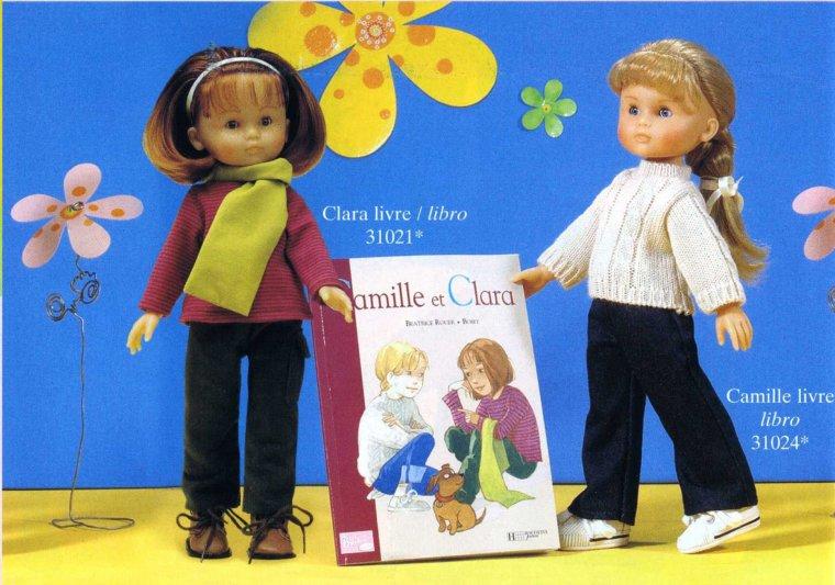 Camille et Clara - Livre - Avril 2002