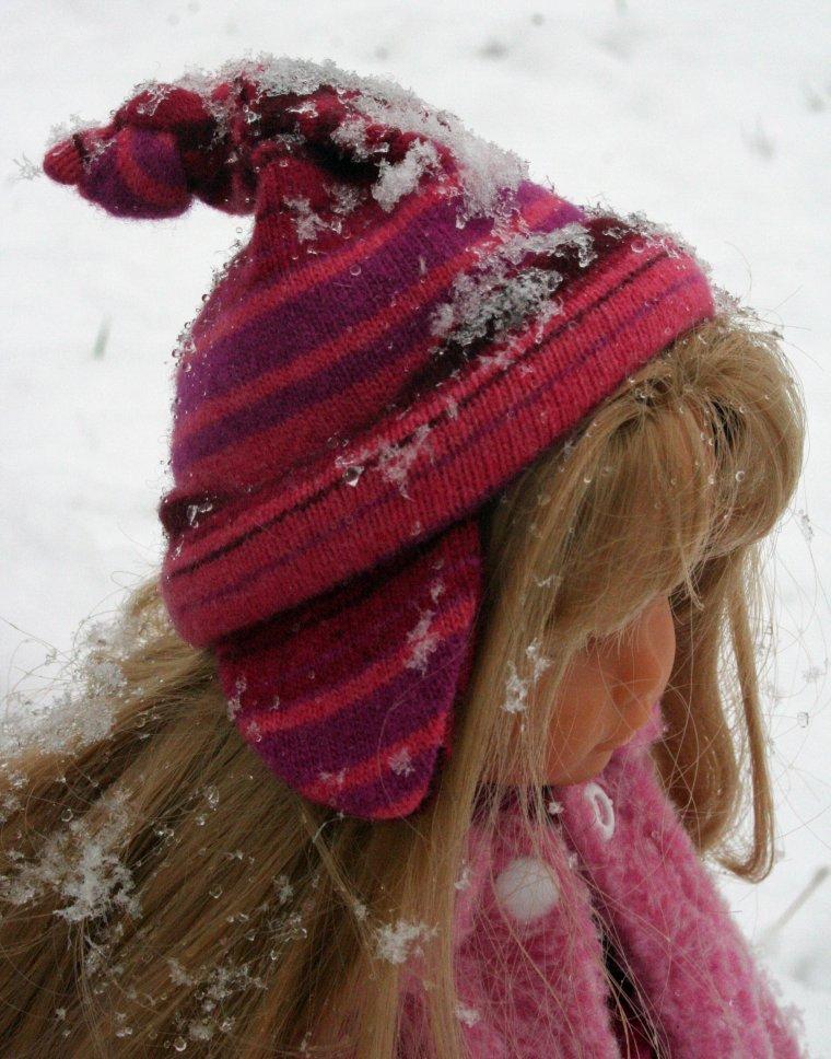 Il neige ! Houpi !