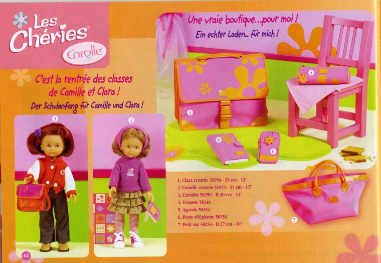 Catalogue 2003, l'été, la rentrée