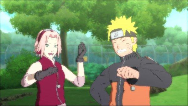 Sakura et naruto