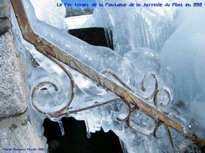 """Qaund FEVRIER 2012 fait descandre la Température à"""" moins 24"""" dans le Pilat"""