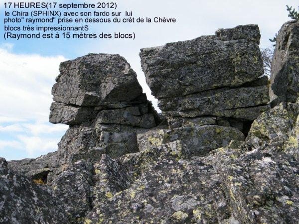 Sortie MYRTILLES vers le cret de la chèvre (Septembre 2012)