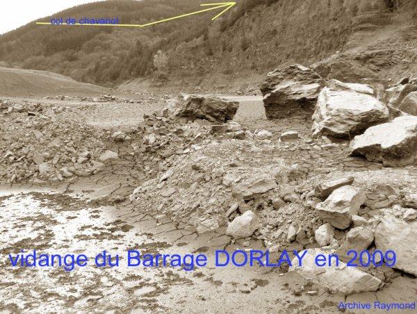 A PROPOS du BARRAGE du DORLAY en 2009