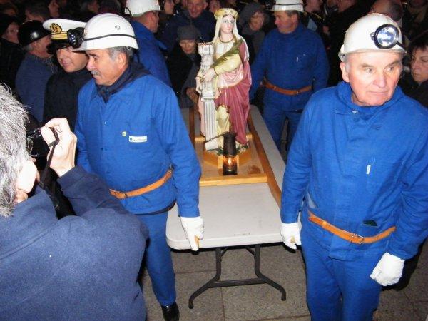 RETROSPECTIVES sur SAINTE BARBARA - gardienne des Mineurs et Pompiers