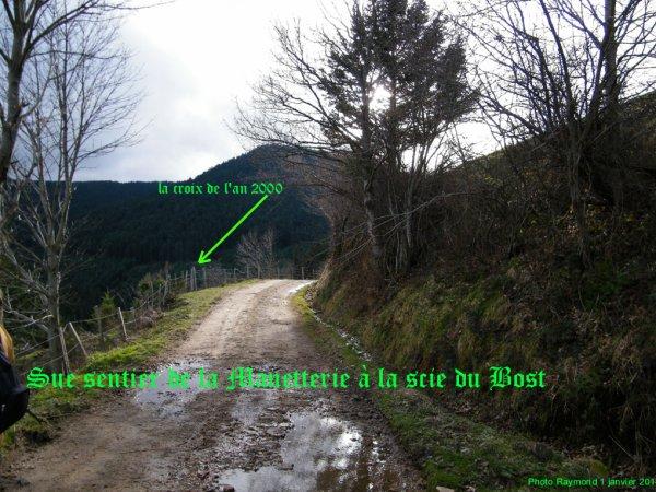 Vue d'en HAUT du Village Brûlé