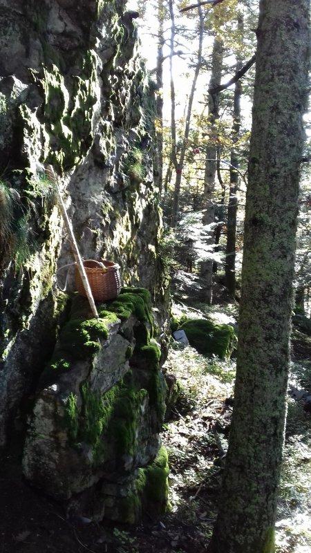LA GROTTE de la CHAUMETTE découverte  octobre 2016