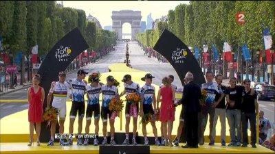 La Fin du Tour de France 2011