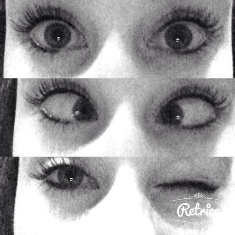 Tes yeux ? Oui c'est les miens