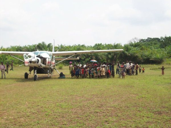 Octobre 2011: devant notre Caravan