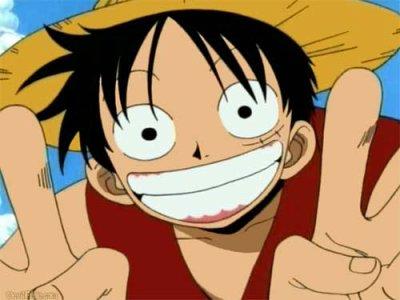 Luffy dans One piece !