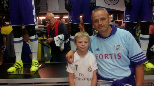 article 40  : RSC Anderlecht : plus qu'une passion  - 8 photos -