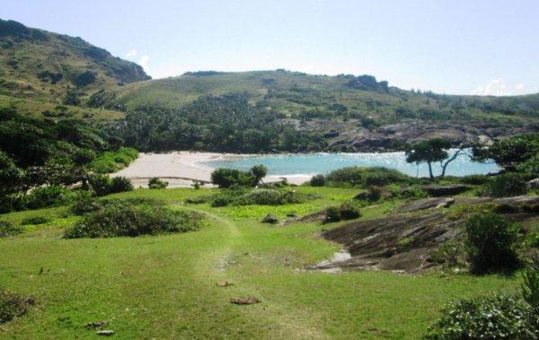 Paysage et la plage