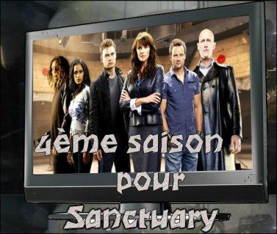 Une 4ème saison pour Sanctuary :)