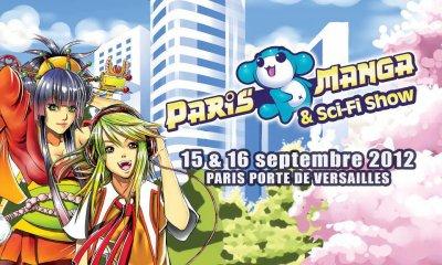 Paris Manga & Sci-fiShow (Septembre 2012)