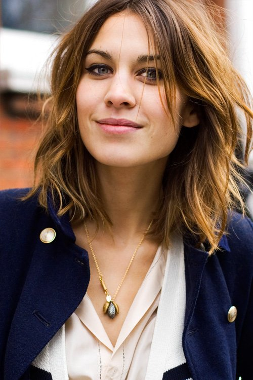 ● Zoom sur une people ( Modeuse, of course ! ) → Alexa Chung.