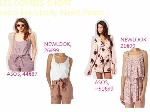 ● Un vêtement, une passion → Les combi-shorts.