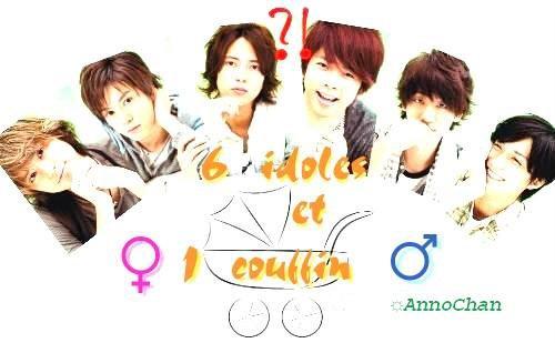 Présentation : 6 idoles et 1 couffin