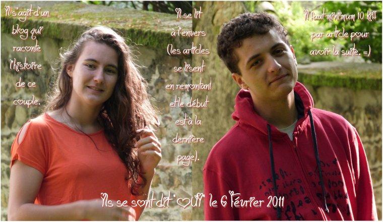 Bienvenue sur le blog de Charline et Mickaël