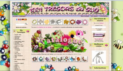 Mes perles en vente sur www.1001-tresors-du-sud.fr