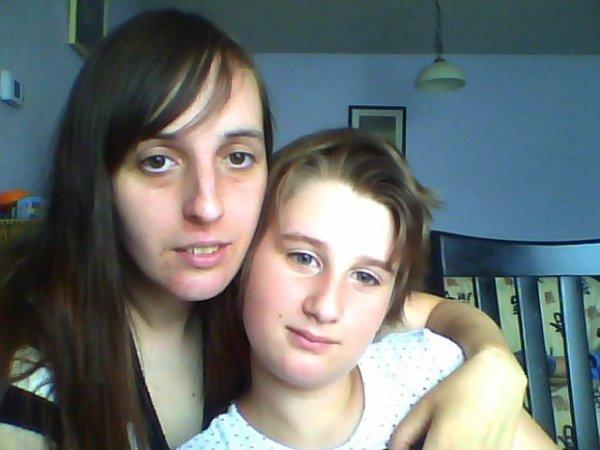 moi et ma fille de onze ans