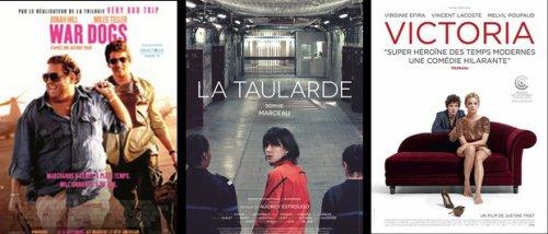 Sorties Ciné Septembre 2016