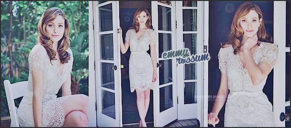 Votre source d'actualité sur l'actrice Emmy Rossum !