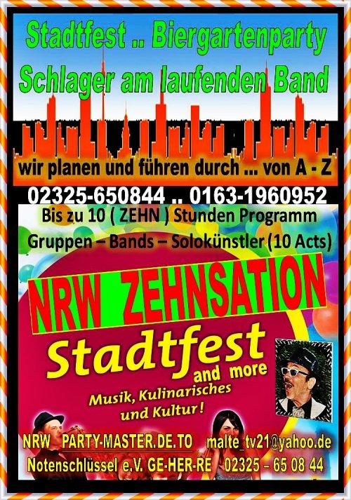 ZEHNSATION in NRW