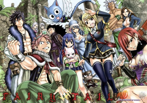 J'adore Fairy Tail!