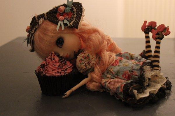 Cachou-Gwendolyn made cupcakes !!